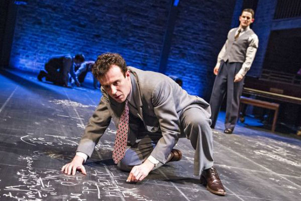 John Heffernan takes the title role in Tom Morton-Smith's Oppenheimer, RSC at the Vaudeville Theatre. © Alastair Muir