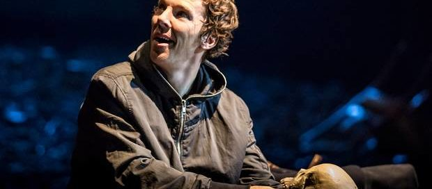 Benedict Cumberbatch in Hamlet at the Barbican Theatre, August 2015.