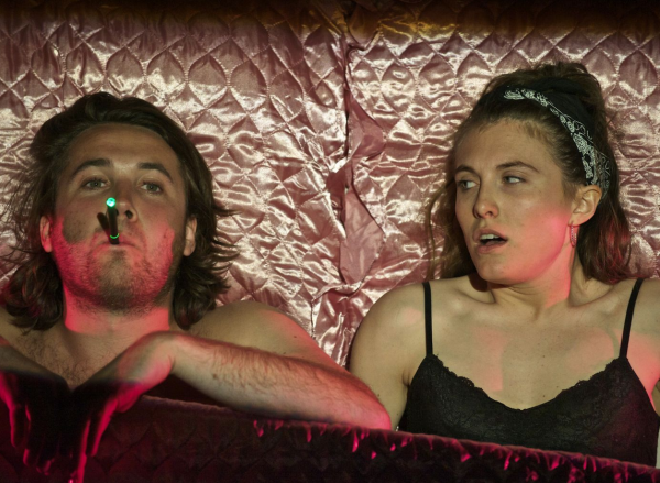 Tom Radford and Lucy Benson-Brown in Heartbreak Hotel at The Jetty