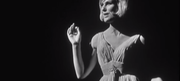 The real Dusty Springfield in action in 1964