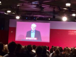My view of Jeremy Corbyn's acceptance speech on Saturday