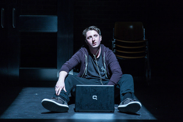 Oliver Johnstone in Teddy Ferrara at the Donmar Warehouse