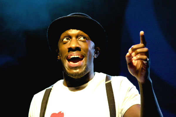 Giles Terera serves up The Candy Man in Pure Imagination. Bricusse wants him to star in his new musical about Sammy Davis Jr