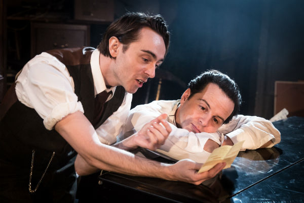 David Dawson and Andrew Scott in The Dazzle at Found 111