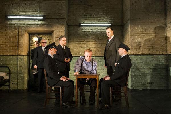 The cast of Martin McDonagh's Hangmen