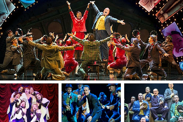 Guys and Dolls runs at the West End's Savoy Theatre until 12 March 2016, before resuming its UK tour