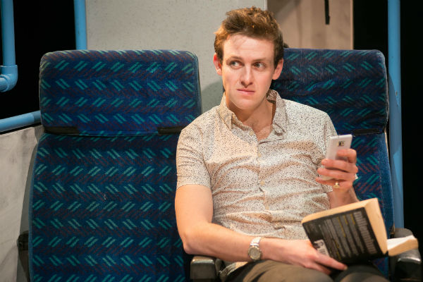 Tom Ward-Thomas stars in his own play premiere at Tristan Bates Theatre