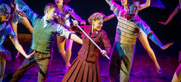 Tracie Bennett leads the troupe as Mrs Henderson in Mrs Henderson Presents