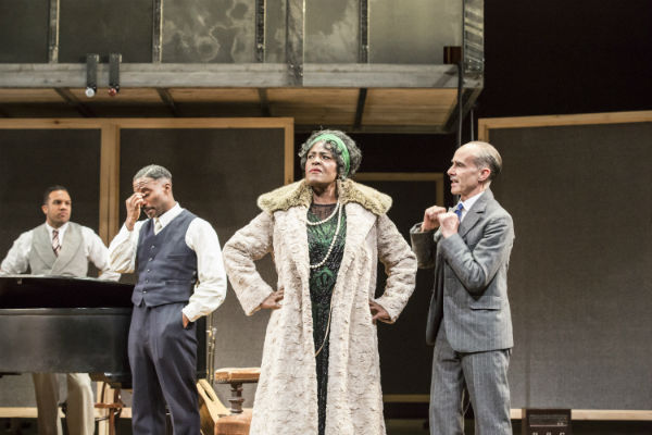 Sharon D Clarke and the cast of Ma Rainey's Black Bottom at the National Theatre