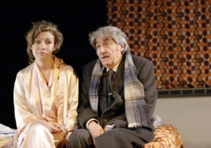 Natalie Walter and Tom Conti in the 2011 revival of Smash! at the Menier Chocolate Factory