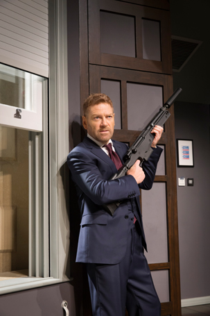 Kenneth Branagh plays an assassin in The Pain Killer