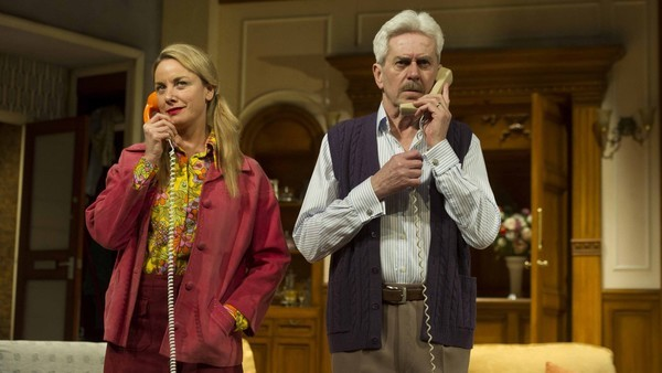 Tamzin Outhwaite and Nicholas Le Prevost in How the Other Half Loves