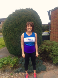 Laura Bangay is running for Age UK