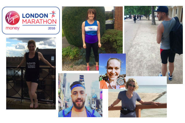 Some of the theatre industry pros running the 2016 London Marathon