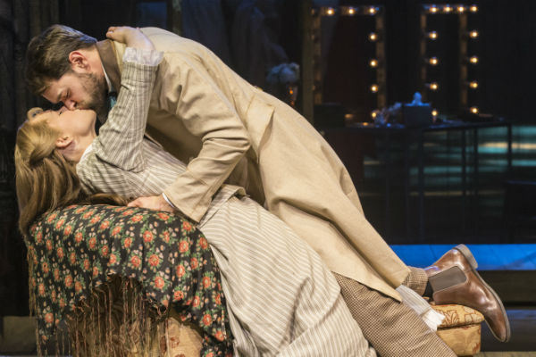 Gina Beck and Chris Peluso play lovers Magnolia and Gaylord in Show Boat at the New London Theatre