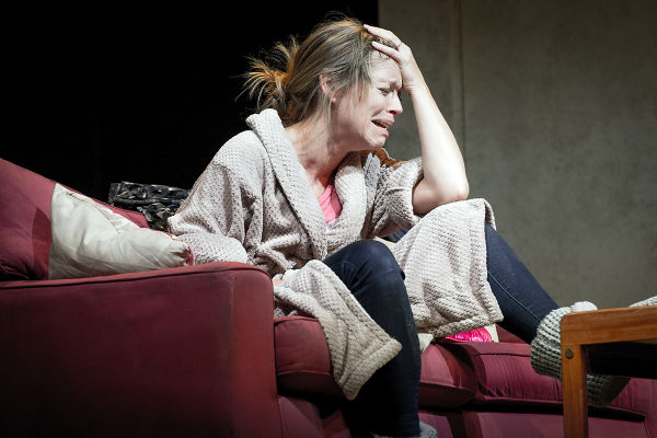 Sarah Alexander is excellent in Mark Ravenhill's The Mother, receiving news of her soldier-son's death