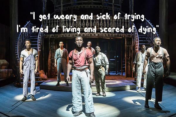 Emmanuel Kojo and the Show Boat cast singing Ol' Man River