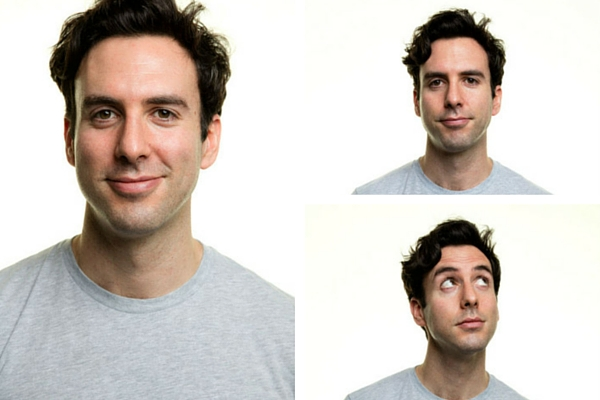 So many beautiful women for this one man... Charlie Buckland plays Guy in Some Girl(s). © Darren Bell