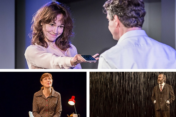 From top (clockwise): Frances O'Connor and Alexander Hanson in The Truth, Stephen Dillane and Gina McKee in The Truth.