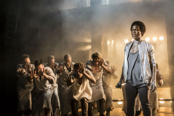 Tyrone Huntley as Judas in Jesus Christ Superstar
