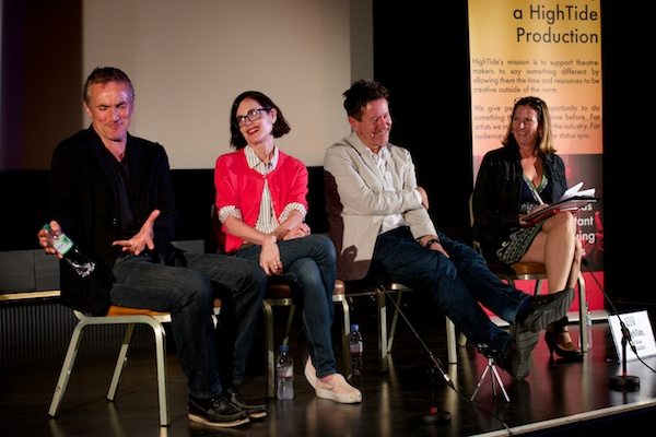HighTide 2016: Face to Face with Alexi Kaye Campbell, Elizabeth McGovern & Ben Miles, chaired by Terri Paddock. © Peter Jones