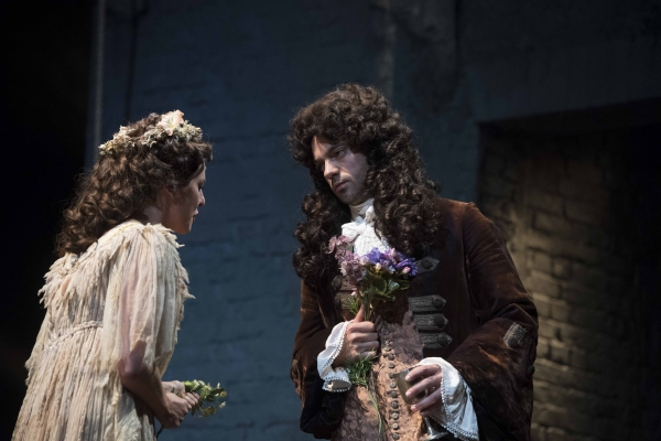 Ophelia Lovibond and Dominic Cooper in The Libertine. © Alastair Muir