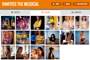 Get all social media (+ photos) for VANITIES & its cast on www.stagefaves.com
