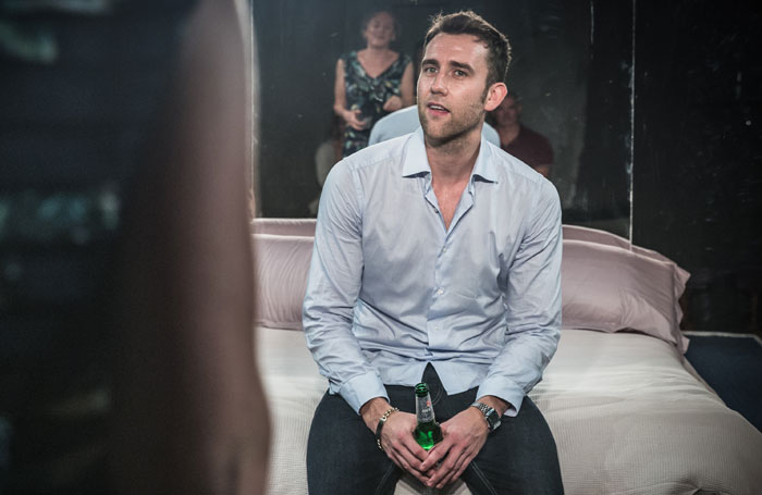 Matthew Lewis (formerly Neville Longbottom in the Harry Potter films) plays a gigolo in Unfaithful