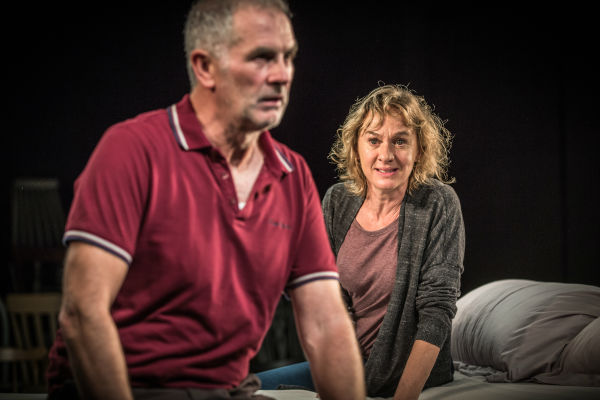 Sean Campion and Niamh Cusack in Unfaithful