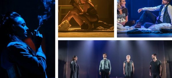 Murder Ballad stars (clockwise l-r): Victoria Hamilton-Barritt, Ramin Karimloo, Kerry Ellis and Norman Bowman