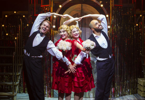 Dominic Hodson, Louise Dearman, Laura Pitt-Pulford and Nuno Queimado in Side Show