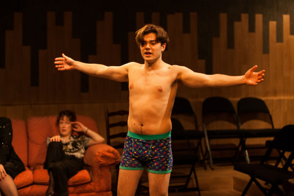 Jacques Miche in Saving Jason at the Park Theatre