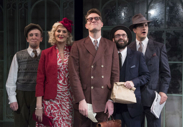 Callum Howells, Katherine Kingsley, Mark Umbers, Alastair Brookshaw and Dominic Tighe in She Loves Me