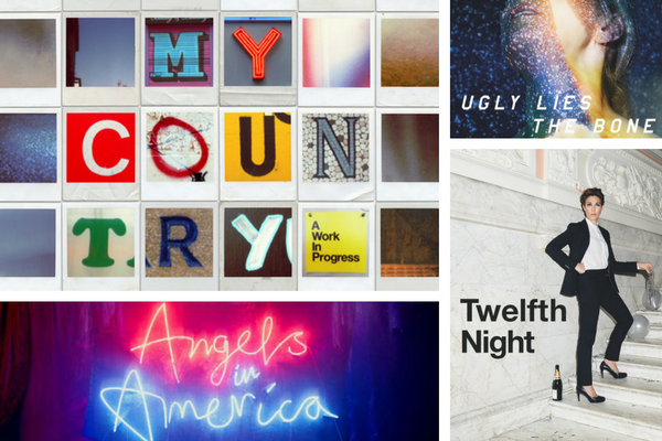 Coming up at the National in 2017: My Country, Ugly Lies the Bones, Twelfth Night and Angels in America.