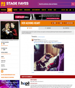 Her Aching Heart on StageFaves.com