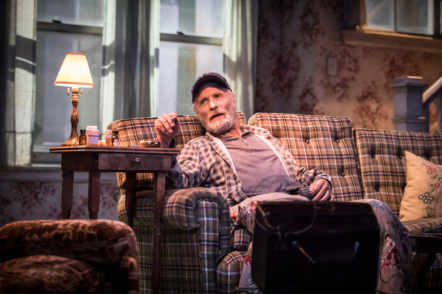 Ed Harris in Sam Shepard's Buried Child at Trafalgar Studios