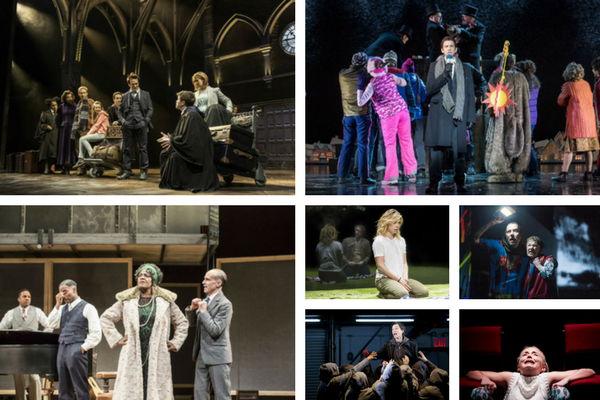 Critics' Theatre 2016 highlights included: Harry Potter, Groundhog Day, Ma Rainey's Black Bottom, Yerma, King Lear, the all-female Shakespeare Trilogy and Iphigenia in Splott.