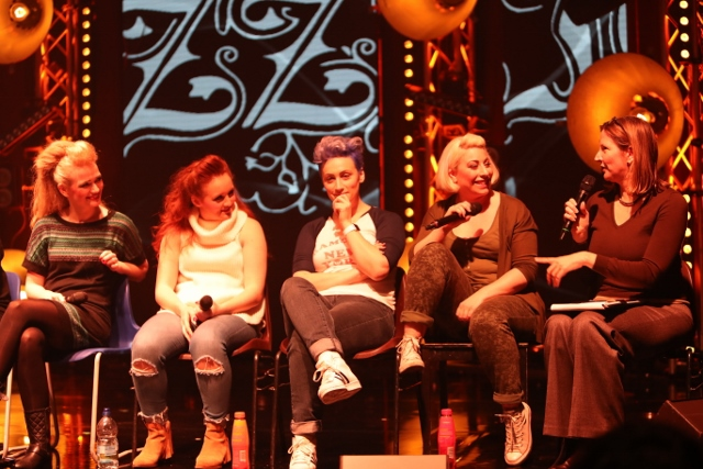 Lizzie post-show Q&A at Greenwich Theatre, 23 February 2017