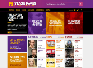 Get all social media for London musicals & their casts on www.stagefaves.com