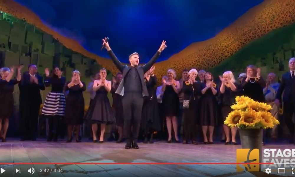 Video & gala photos: Gary Barlow dares all at curtain call