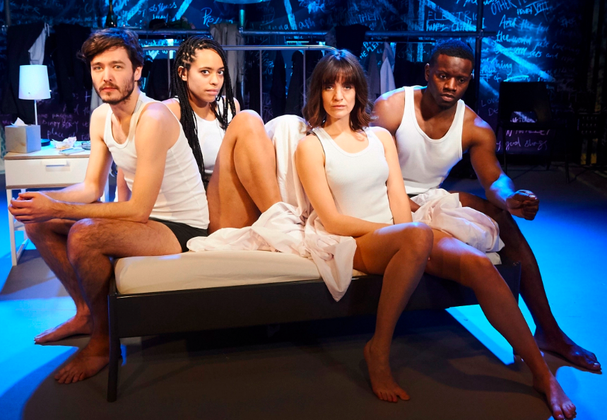 Alexander Vlahos, Amanda Wilkin, Lauren Samuels and Leemore Marrett Jr in La Ronde