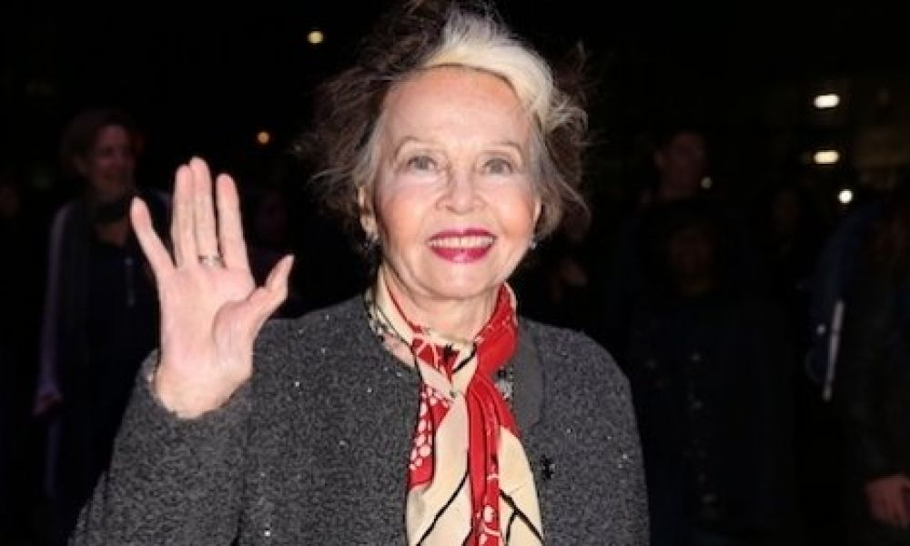Star of the film Leslie Caron attends An American in Paris