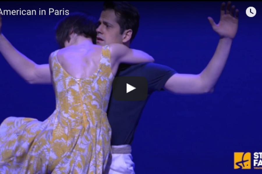 New An American in Paris production footage just released
