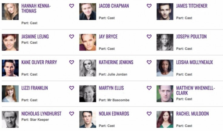 Complete cast Twitter directory