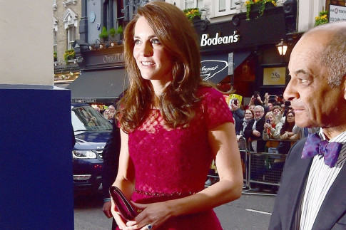 Red Carpet Royal! Princess Kate steps out on 42nd Street