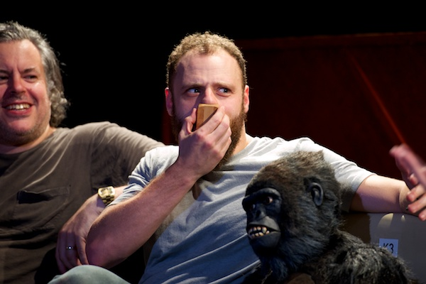 Kong & the audience were impressed by Sam Donnelly's nose flute skills. Was Brendan Murphy?