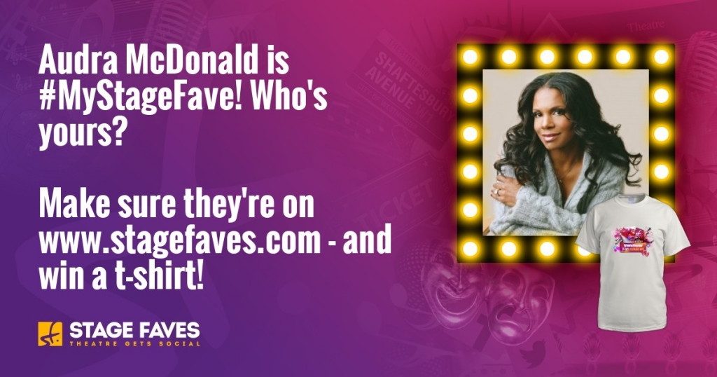 Audra McDonald on StageFaves