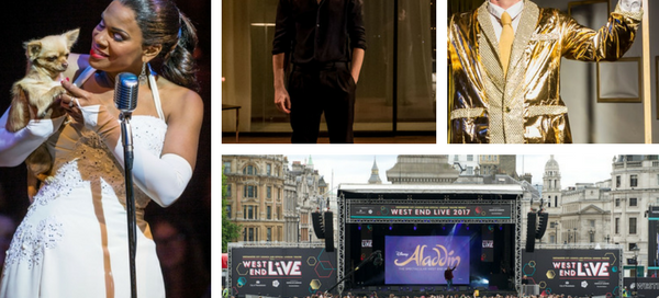 My theatre diary w/c Sunday 25 June 2017: Lady Day at Emerson's Bar & Grill, Hamlet, The Quentin Dentin Show, West End Live