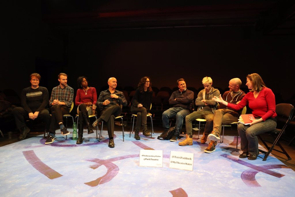 The Secondary Victim post-show Q&A at London's Park Theatre