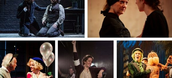 Clockwise from top left: Young Marx, The House of Bernarda Alba, Insignificance, Imagine This & The Lorax